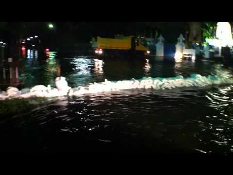 十月廿六日Sanam Luang皇家田水浸情況