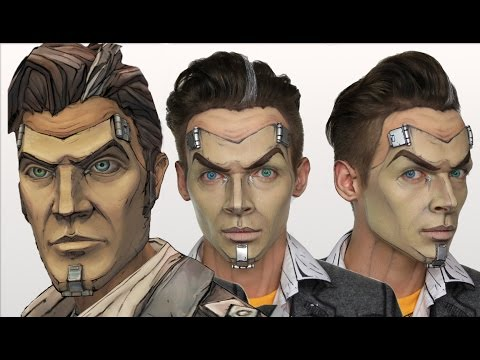 Handsome Jack Borderlands | Halloween MakeUp Tutorial | Cosplay