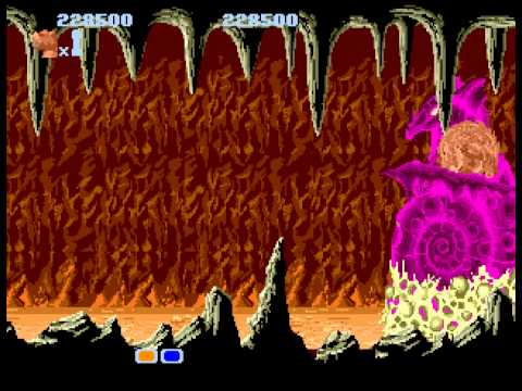 Altered Beast -  2 deaths in boss fight - User video