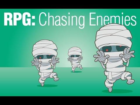 Gamesalad RPG Chasing Enemies (AI)