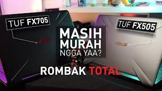 LAPTOP GAMING ASUS YANG TERJANGKAU & BEZEL-LESS !!! | Review Asus TUF FX505 GE & FX705 GD
