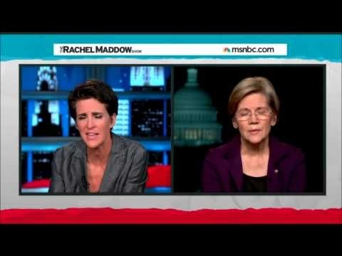 Elizabeth Warren Rips Wall Street Giveaway