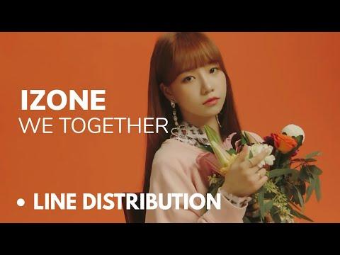 Download IZONE  We Together Line Distribution