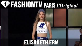 Model Elisabeth Erm | Beauty Trends for Spring/Summer 2015 | FashionTV