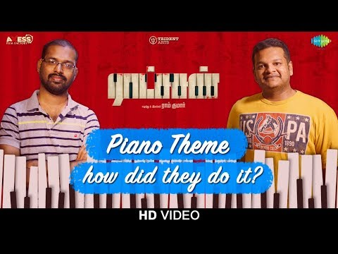 Piano Theme | Ratsasan | Original Background Music | Ghibran | Ramkumar | Vishnu Vishal | Amala Paul