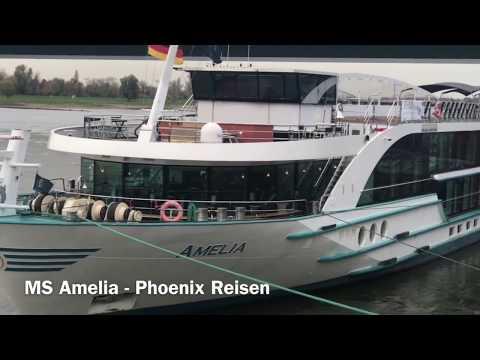 MS Amelia und MS Anesha - Phoenix Reisen