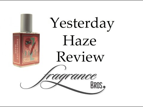Yesterday Haze by Imaginary Authors Review! Great Fig Scent!