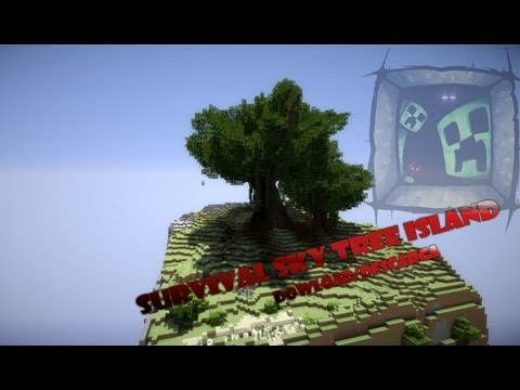 Mapa de supervivencia para minecraft 1.9.2 Survival Sky Tree Island