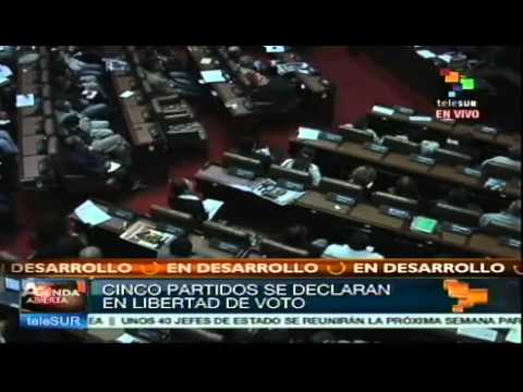 Debate Senado colombiano matrimonio homosexual