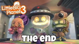 Little BIG Planet 3 - THE END (PS4 Father & Son Gameplay)