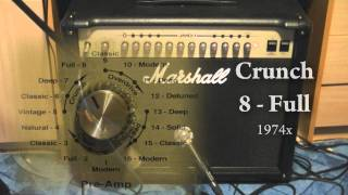 Marshall JMD501 Sound Test - Part 1