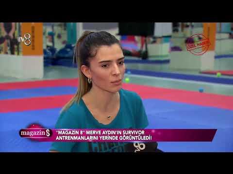 Magazin 8 | Merve Aydın Survivor 2018'e böyle hazırlanıyor!