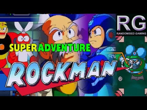 Super Rockman Adventure Sega Saturn Intro and gameplay, interactive movie game [4k60]