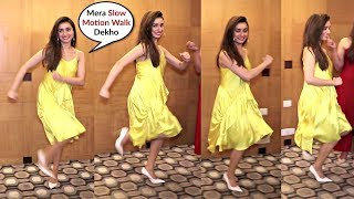 Shraddha Kapoor Behaving Like A Kids At Baaghi 3 Promotion
