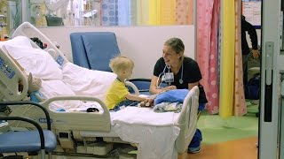 Tour of Duke Children's Pediatric Progressive Care Unit