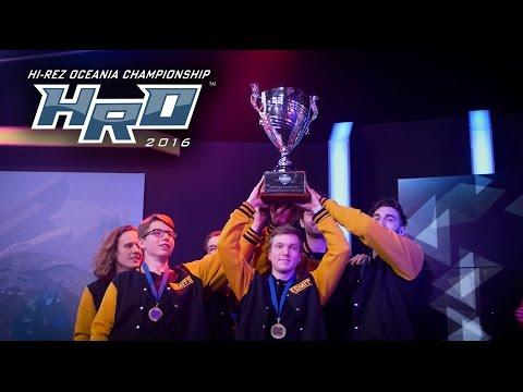 SMITE - Hi-Rez Oceania Championship 2016 - Recap