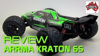 Review: ARRMA Kraton 6S 1/8 Scale Monster Truck/Truggy