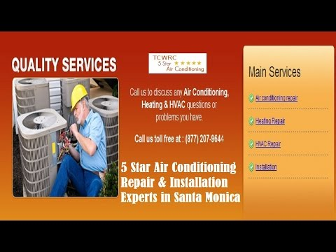 Air Conditioning Santa Monica (310) 409-4668 | AC | AC Repair Santa Monica, CA
