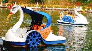 Nhạc Thiếu nhi - Em đi chơi thuyền - Em đi chơi thú nhún - Bé đi chơi công viên