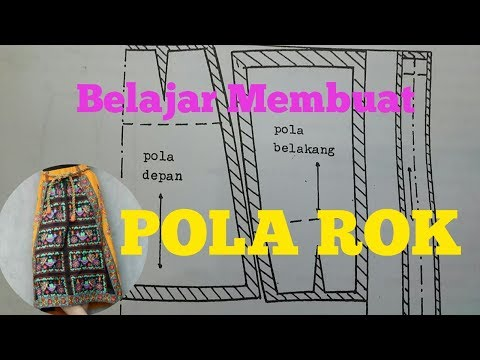 Belajar membuat Pola ROK thumbnail