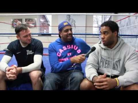 'I'LL KICK ANTHONY JOSHUA'S BUTT IF THEY WANT ME TO!' -EDDIE CHAMBERS W/ ASIF VALI & MICHAEL SWEENEY