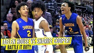 MOST EXCITING GUARDS BATTLE IT OUT!! JAELEN HOUSE VS SHARIFE COOPER WAS EPIC!