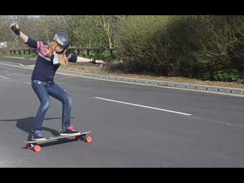 LongboardUK Trick Tips: Heel-side 180 Standup Slides