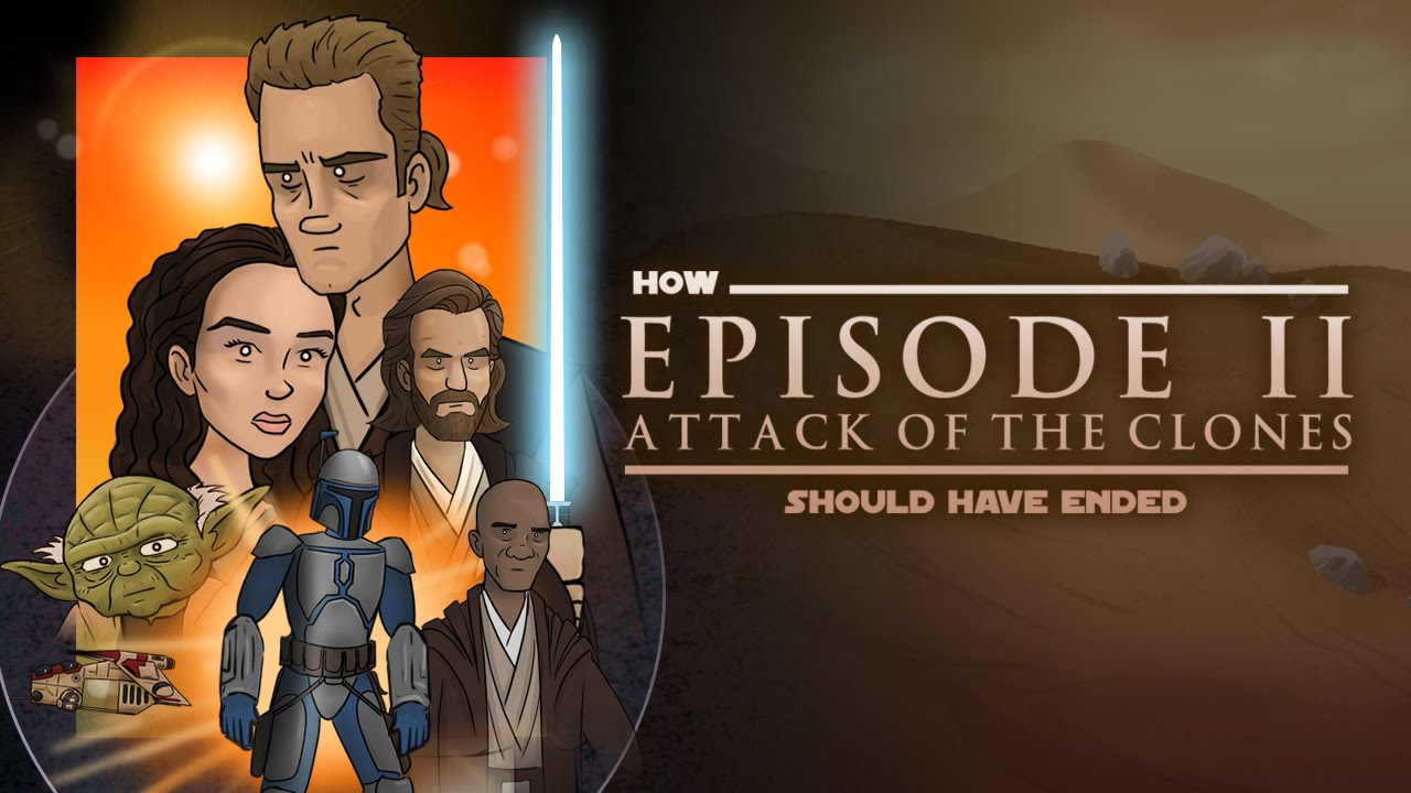 How Attack Of The Clones Should Have Ended