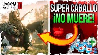 SUPER CABALLO Red Dead 2 Online : COMO TENER EL CABALLO QUE NUNCA MUERE ¡GRATIS Todas las Medicinas!