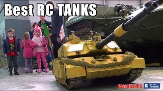 TOP 10 BEST Radio Controlled (RC) TANKS and ARMOURED VEHICLES
