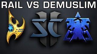 Rail vs Demuslim - PvT - Youtube Exclusive Cast!