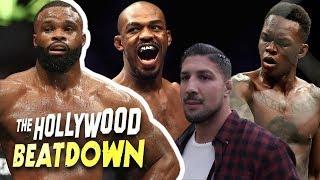 TMZ Sports Claps Back At Brendan Schaub over Jones/Adesanya Beef | The Hollywood Beatdown
