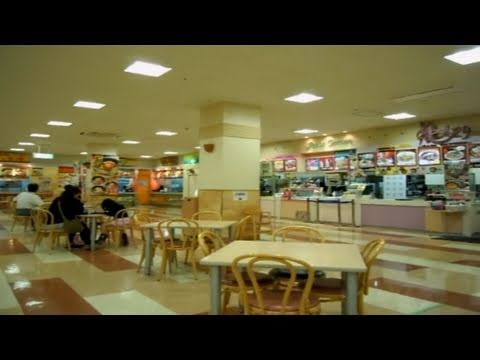 Japanese Food Court Differences!