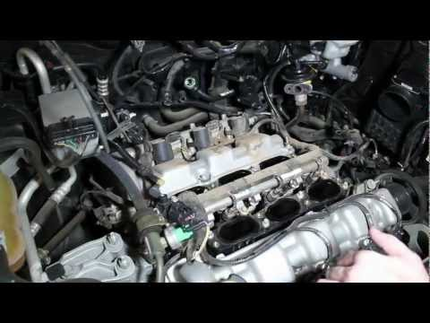 How to Change Spark Plugs on V6 3.0 Ford Escape or Simlar Ford such as Taurus. Ranger. etc