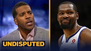Jim Jackson reacts to Durant leading the Warriors past LeBron's Cavs in Game 3   NBA   UNDISPUTED