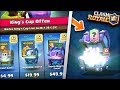 YOU WONT BELIEVE THESE OFFERS! BUYING ALL KINGS CUP OFFER PACKS IN CLASH ROYALE! thumbnail