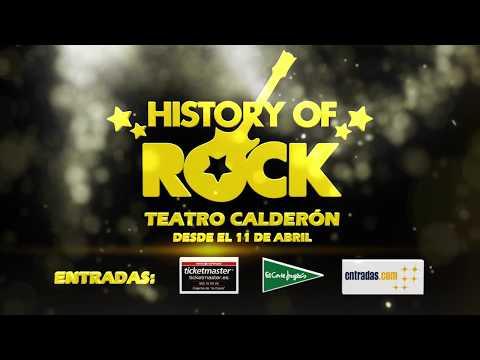 History Of Rock  - Promo Madrid, Teatro Calderón 2018