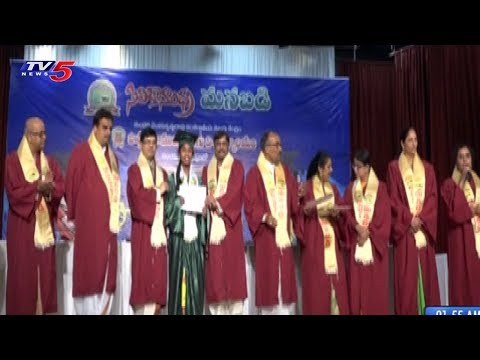 Silicon Andhra Manabadi Conducts Convocation 2018 In California | TV5 News