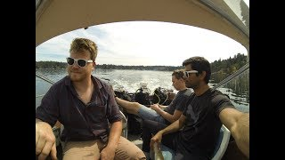My first backwards roll off a Boat Dive | PADI Open Water