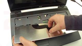 How to replace or remove keyboard in Acer Aspire 7250 7250G