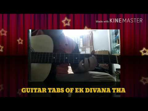 Ek deewana tha serial song on guitar
