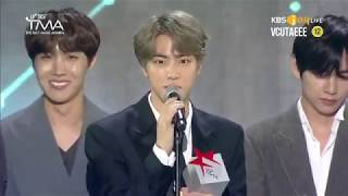(ENGSUB) 190424 FULL BTS MOMENT ALBUM ARTIST OF THE YEAR DAESANG + ENCORE @ THE FACT MUSIC AWARD