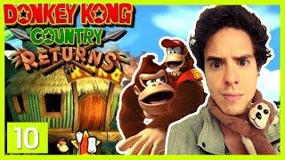 Donkey Kong Country Returns - Episodio 10 - Niveles Adorables, Muy Escondido Todo