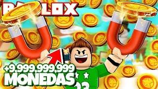 CONSEGUIMOS +9,999,999,999 de DINERO en ROBLOX !! | Roblox Magnet Simulator
