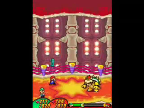 Mario and Luigi Bowser's Inside Story - All Bosses