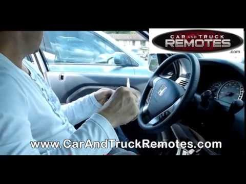 Honda Element Replacement Remote Programming