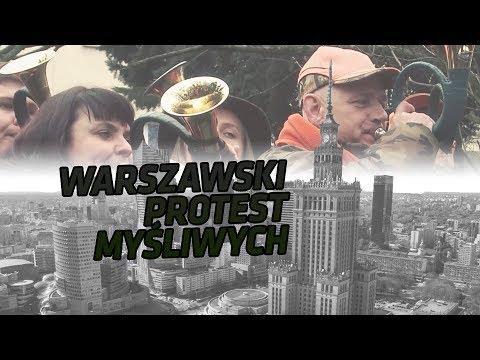 Ogólnopolska Akcja Protestacyjna Myśliwych W Warszawie