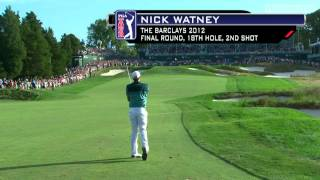 Top 10 shots from the 2012 FedEx Cup Playoffs