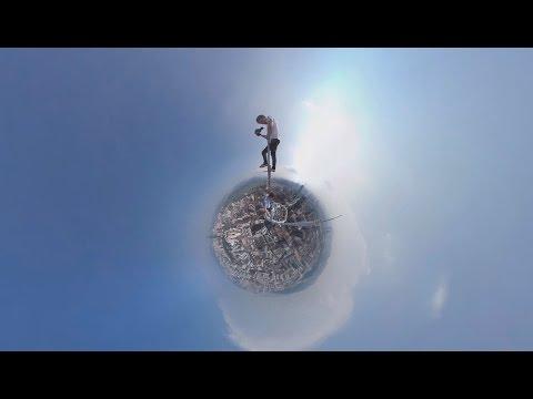 Опасная высота в 360: руферы покоряют небоскрёб в Китае