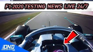 F1 2020 Testing News & Highlights LIVE 24/7 - Chat with fellow f1 fans here!